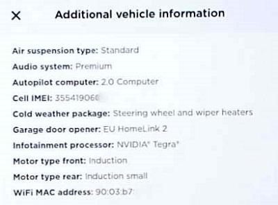 Autopilot HW2 and MCU 1