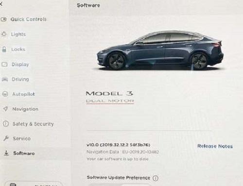 Tesla M3 with No Autopilot software