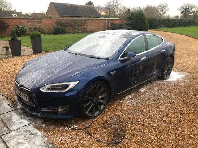 Rinsed Tesla