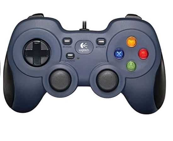 Using a games controller